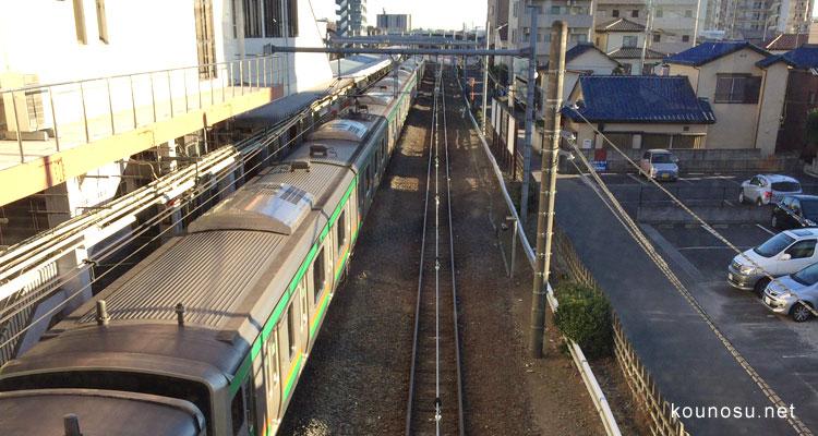 鴻巣駅、高崎線