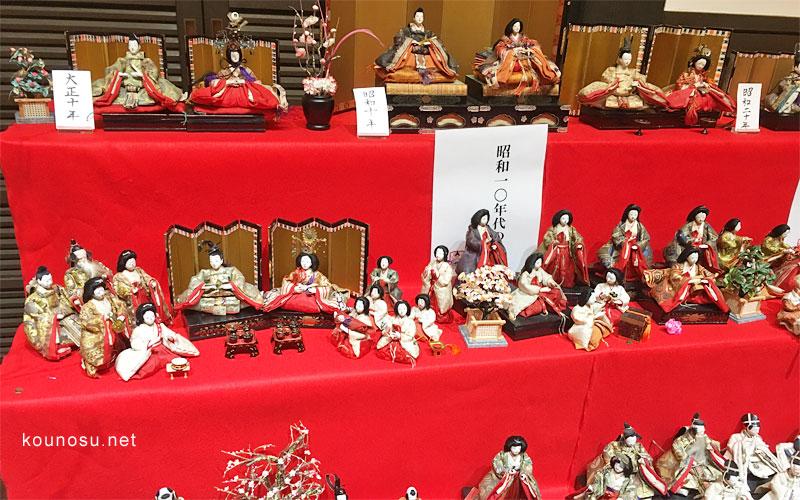 鴻巣びっくりひな祭り花久の里ひな人形の歴史