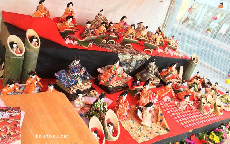 鴻巣びっくりひな祭り仲町(久保田燃料前)