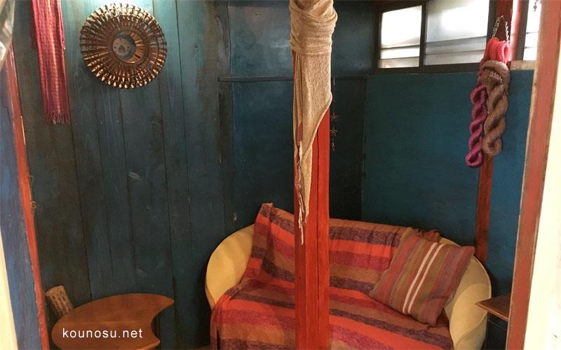 ノウノウカフェの秘密部屋
