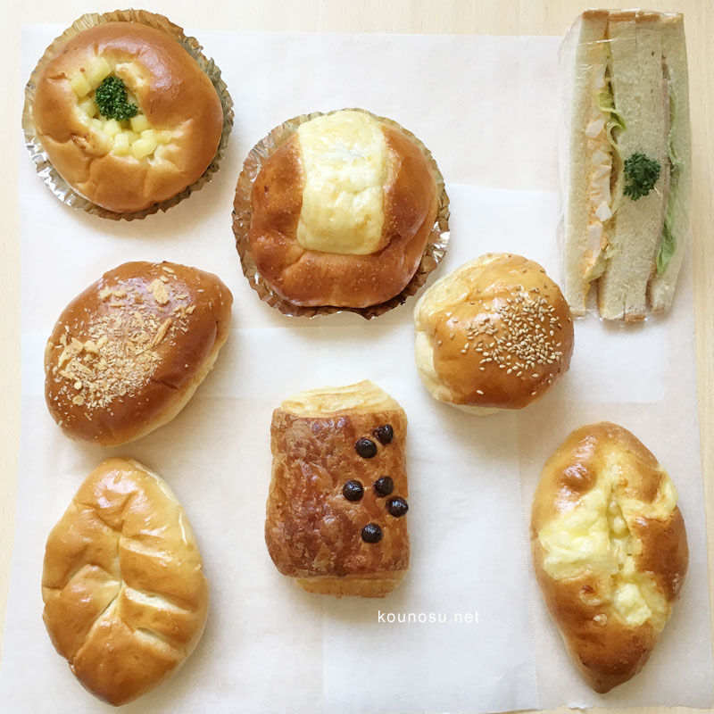 サントノーレ・コミヤ パン レポート